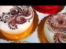 Рисунки на тортах! Кулинарные произведения искусства!