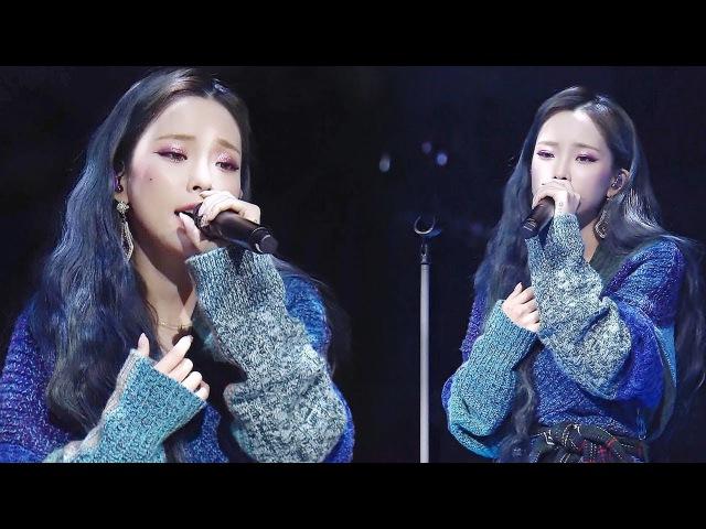 헤이즈, 부드러운 음색의 차분한 감성 열창 '저 별' @2017 SBS 가요대전 1부 20171225