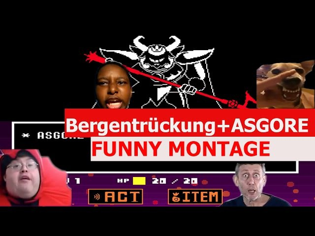 Undertale Bergentrückung ASGORE Remix FUNNY MONTAGE