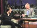 Dan Wheldon on Late Show with David Letterman 2005