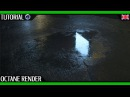 Create Realistic Water Puddles in Cinema 4D and Octane | by T I M O N O A C K