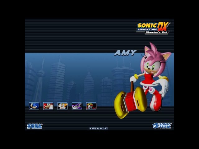 Sonic Adventure DX: Director's Cut (Часть 4: Amy Rose) [4K] 2160p/60