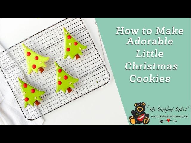 How to Make Christmas Tree Sugar Cookies | The Bearfoot Baker