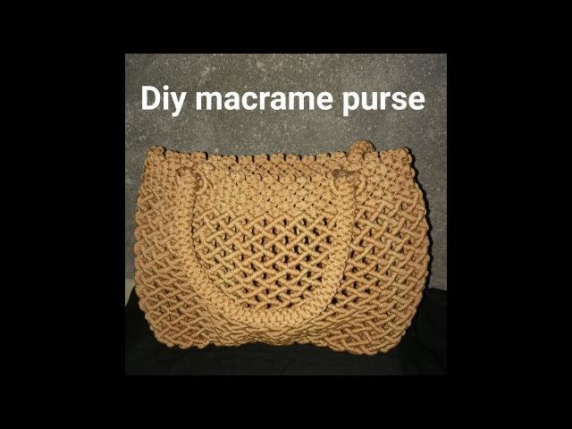 How to make macrame purse design 9