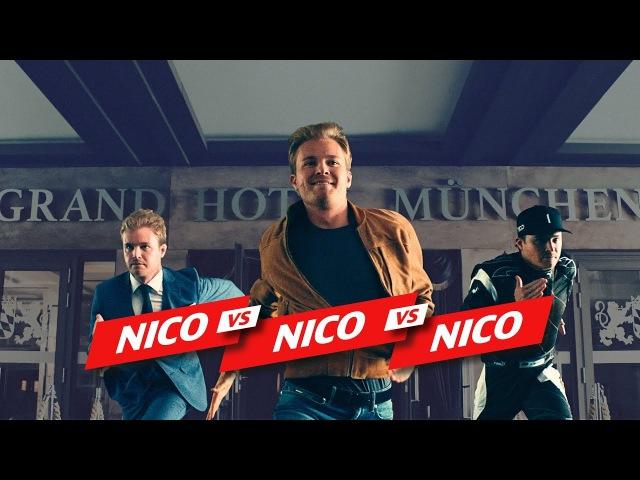 """""""Nico vs. Nico vs. Nico"""" rekordzeit"""