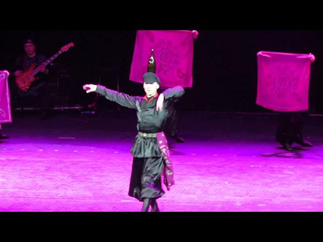 ансамбль Сухишвили - танец Кинтаури (70-летие ансамбля)