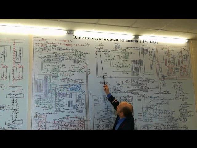 ТЭМ—18дм подготовка к запуску дгу