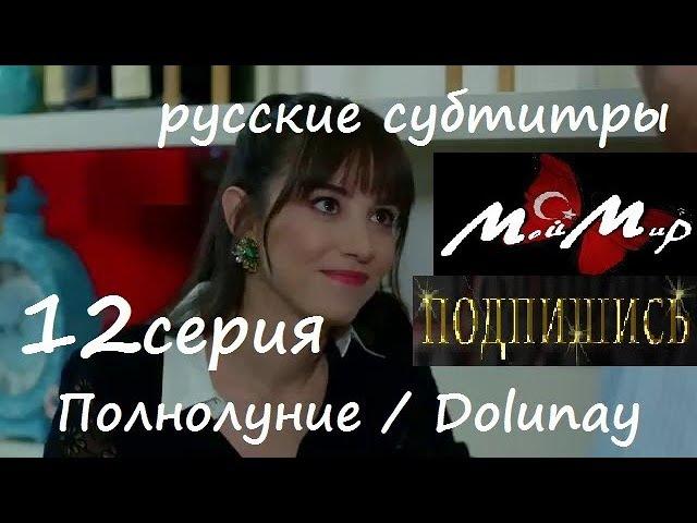Полнолуние / Dolunay 12 серия русские субтитры.. Озге Гюрель