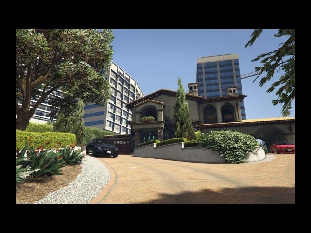 Реальная Жизнь в GTA 5 - Мне подарили дом и Mersedes C63 AMG