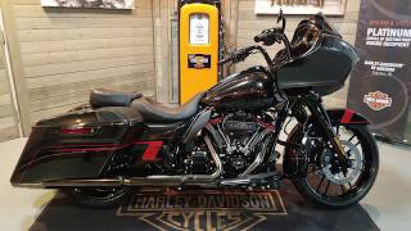 2018 Harley Davidon CVO Road Glide Special FLTRXSE Black Earth Vivid Black