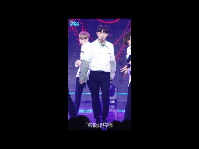 [예능연구소 직캠] 워너원 에너제틱 윤지성 Focused @쇼!음악중심_20170826 Energetic Wanna One YOON JI SUNG