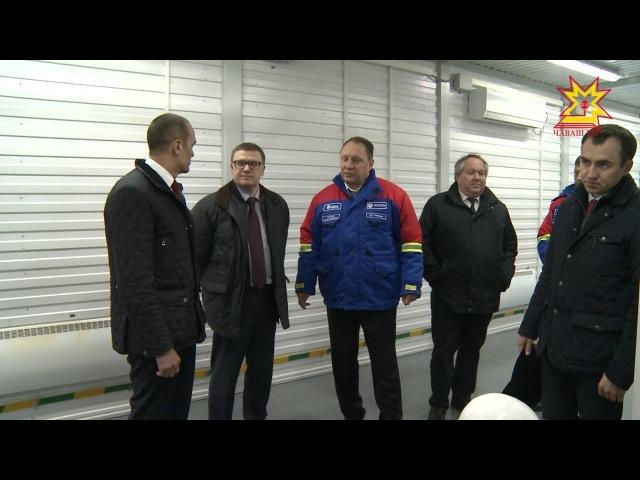 Алексей Текслер побывал на открытии распределительного устройства «Коммунальн...