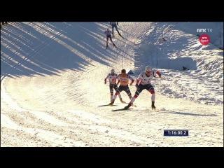 Johannes Høsflot Klæbo PHENOMENAL ATTACK & WIN - 30 km skiathlon - Lillehammer 2017