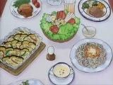 Домашняя еда от Ай. Момент из аниме Ай - девyшка с кассеты. Video Girl Ai. Отрывок