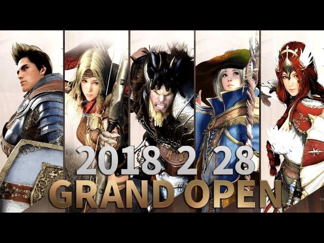 Black Desert Mobile KR - Grand Open Beta Trailer New Mobile Games 2822018