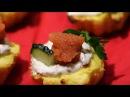 Творожно-рыбные / Сырно-картофельные корзиночки