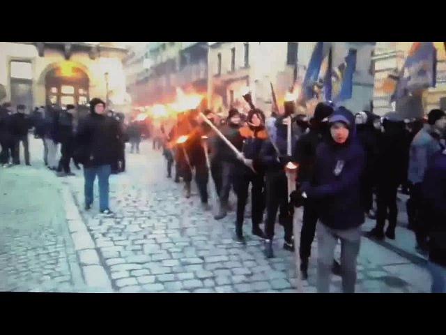 04.03.18 поляк комментирует марш украинских фашистов во Львове
