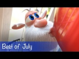 Booba - Compilation of all episodes - Best of July - Буба - Cartoon for kids