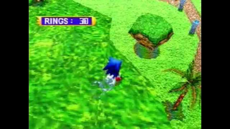 Sonic Jam - Sonic World (Saturn)