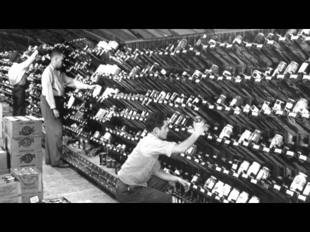 Первые супермаркеты в США почти 80 лет назад