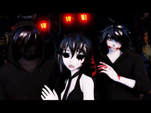 【MMD CreepyPasta】🎃 This is Halloween 🎃