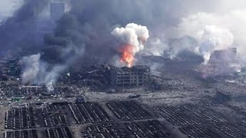 The Tianjin Explosion Caused by Pentagon Space Weapons According to Natural News! Are we at war?