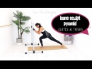 Ballet Barre Workout Lower Body Barre - BARLATES BODY BLITZ Barre Sculpt Pyramid Glutes and Thighs