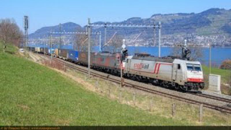 Alptransit Frühjahr 2015 - Transrail, SBB Cargo, BLS Cargo und Crossrail