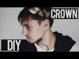 DIY   How to make costume Julius Caesar Crown Headband of cardboard   Tutorial
