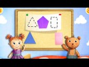Play school Shapes Color fun Games Kids Videos Children's TV Funny