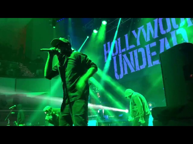 Hollywood Undead - Usual Suspects LIVE @ Aura Portland Maine 18 November 2017