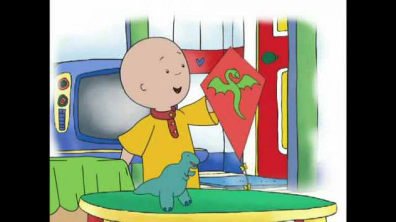 Kids' English | Caillou Videos Channel - Caillou Show and Tell