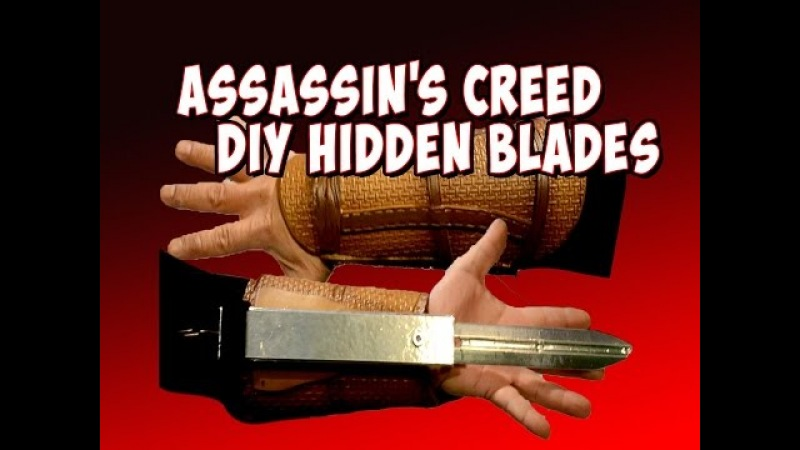 Assassin's Creed Cosplay Gauntlets part 2 retractable hidden blades