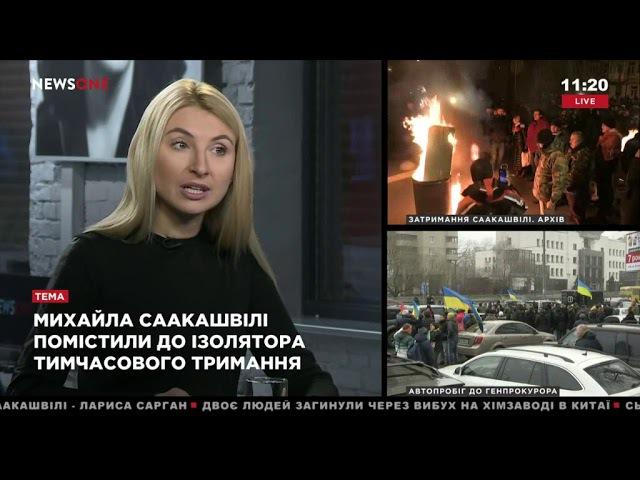 Бернацкая: ситуация с Саакашвили свидетельствует о приближении предвыборного процесса 09.12.17