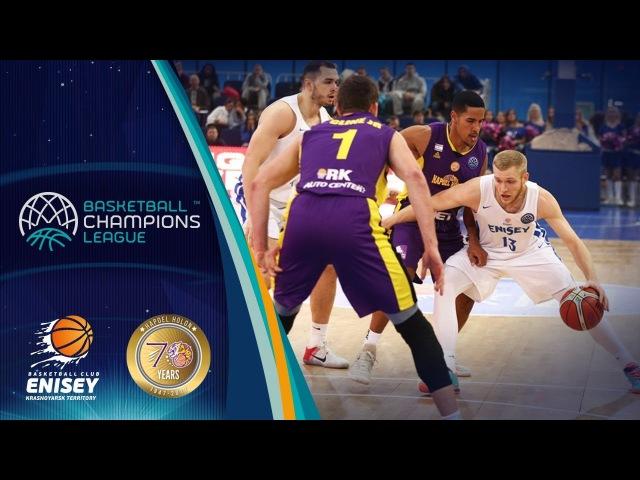 Enisey Krasnoyarsk v UNET Holon - Highlights - Basketball Champions League