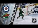 Winnipeg Jets vs Minnesota Wild – Jan. 13, 2018 Game Highlights NHL 2017/18. Обзор матча