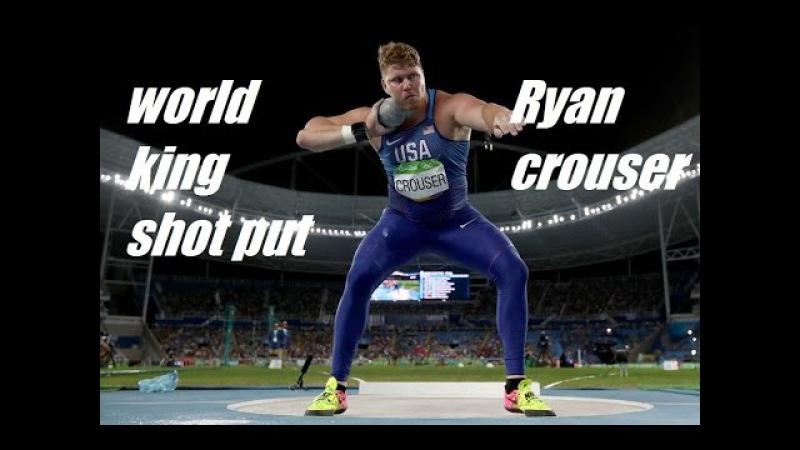 RYAN CROUSER BEST SHOT PUTTER IN THE WORLD