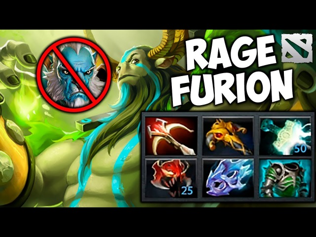 Meracle RAGE FURION Nature's Prophet Dota 2