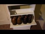 Ikea Bissa shoe cabinet setup