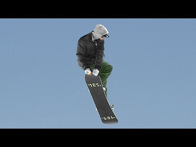 How to Grab Double Tail | TransWorld SNOWboarding Grab Directory