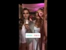 На «пижамной» вечеринке от «Victorias Secret» в Беверли-Хиллз.