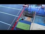 Соревнования по спортивной гимнастике Подарок маме Зарина брусья 3р.