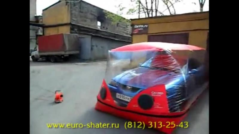 Автокапсула - надувной гараж