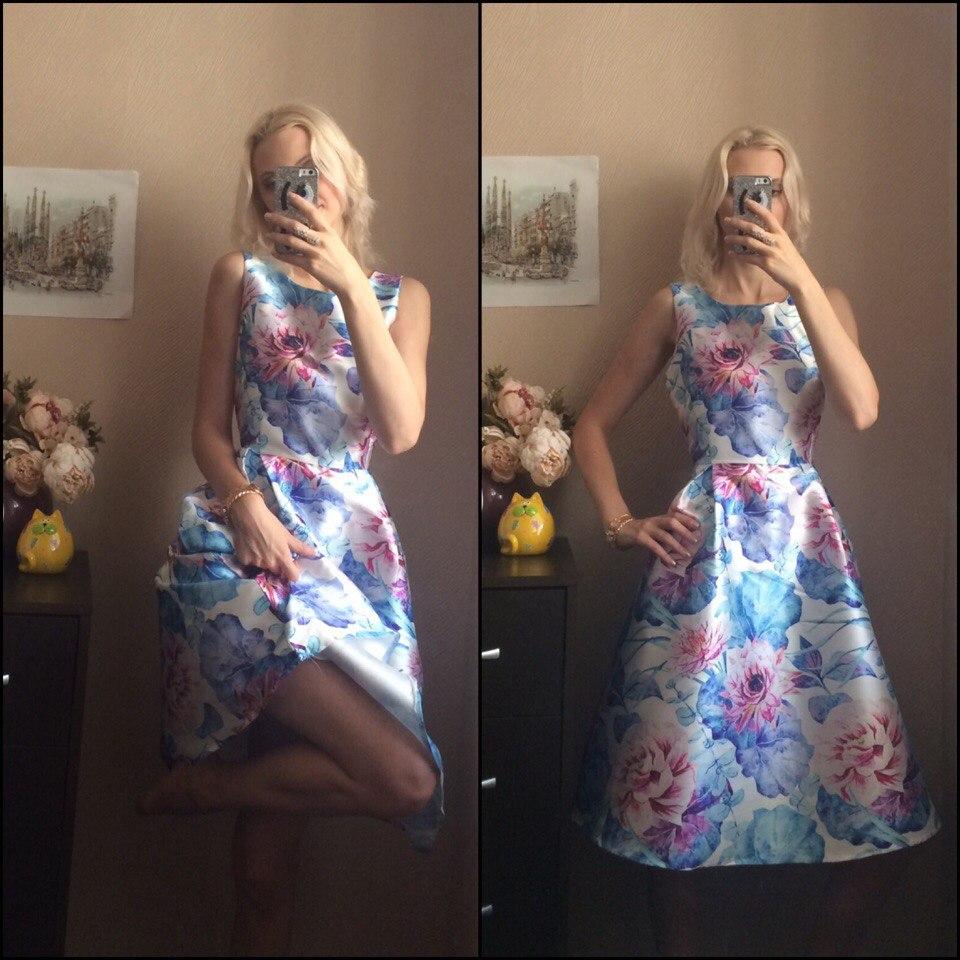 Яркое и красивое платье из магазина Samuume Store