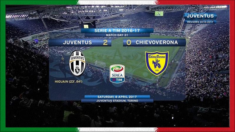 Serie A 2016-17, g31, Juve - Chievo (RW)