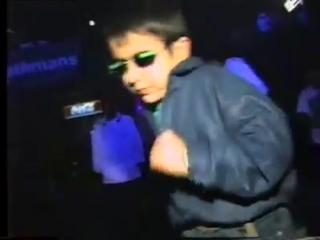 Ukraine, 1997 - Kid dancing in club