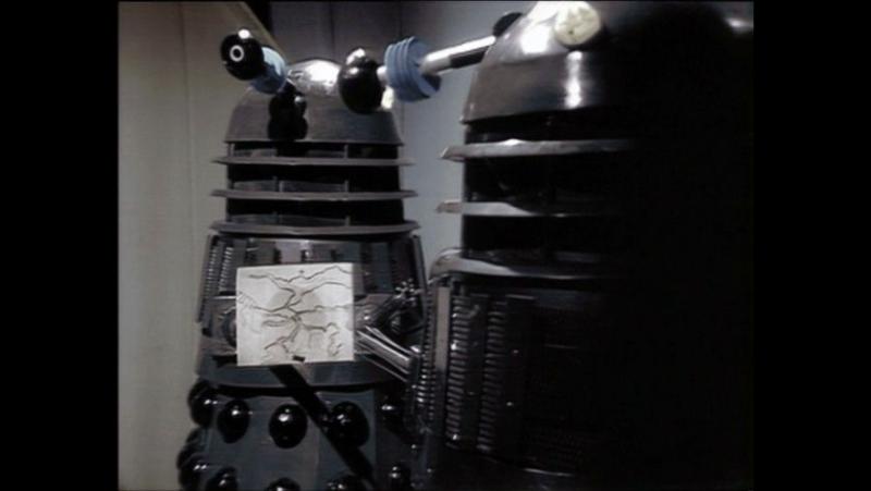 Классический Доктор кто 10 сезон 4 серия Планета далеков 3 часть TARDIS time and space