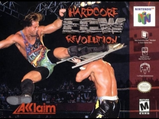 Прохожу ECW Hardcore Revolution (Nintendo 64)