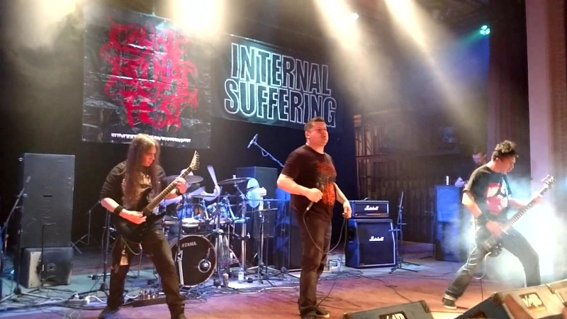 INTERNAL SUFFERING – Live At Coyote Brutal Fest 12, MonaClub, Moscow, 17.02.18 2
