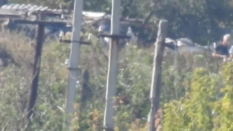 Снайперы ВСН... отстрел карателей ВСУ. Марьинский блок-пост